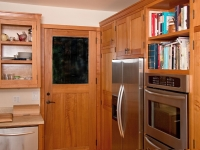 Monterey Cypress kitchen cabinets