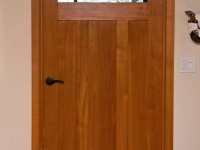 Monterey Cypress office door