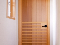 Interior door designed by Marc Miasato