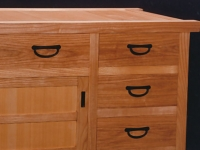 Ash and Port Orford Cedar tansu